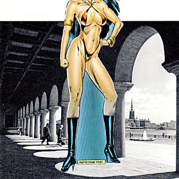 M_endy  Wer bin ich? 21,4 x 27,8 cm, Original, Comic strip Collage & Photoshop, Seite 12, 2011