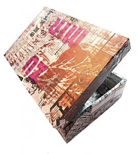 Tsuru – Kranich 9 x 9 x 9 cm, Origami 2012