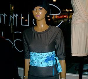 Obi-soso  Taillienschärpe, Fashion with love ima koko & b Berlin 2005