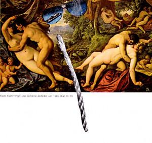 Gülden  17,1 x 14,8 cm, Collage 2011