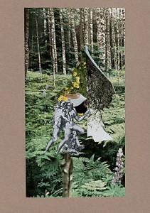 Love & Peace & Nature  20,9 x 29,9 cm, Collage 2011