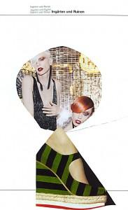 Lustgärten  17,9 x 28,6 cm, Collage 2011