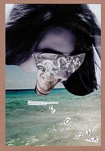 Ohha  20,9 x 29,6 cm, Collage 2011