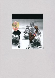 transglobal  20,9 x 29,6 cm, Collage 2011
