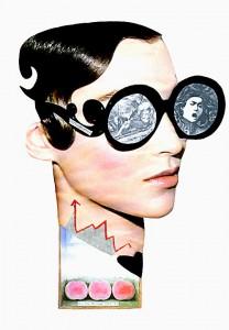 Verfügbarkeit  20,8 x 29,9 cm, Collage 2011