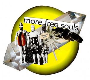 More free souls 6,3 x 6,3 cm, Sticker 2008