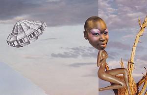 Teleportation  20 x 13,2 cm, Collage 2013