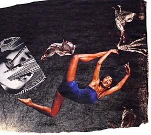 Elastico  14,5 x 12 cm, Collage 2007