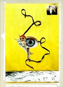 General Zizou  22 x 31,5 cm, Collage 2006