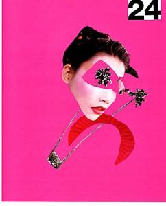 Happy X-mas  20,3 x 25,4 cm, Collage 2005