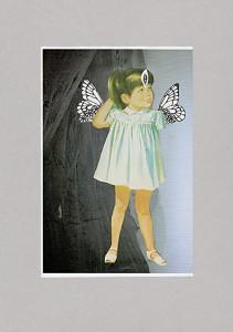 Kinderfreiheit  20,9 x 29,6 cm, Collage 2011