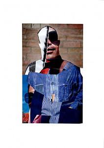 Roy  20,5 x 29,6 cm, Collage 2011