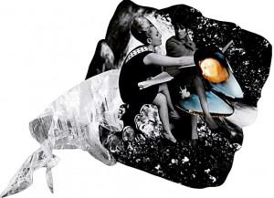 Witchcraft  34 x 24 cm, Collage 2009