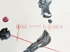 """OM sweet hOMe"" Wallart 12 x 2,40 m, Detail, 9. Yogafestival Berlin 2013"